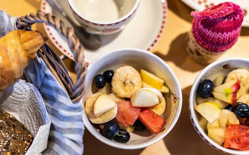 Bed &Breakfast Woldstee, ontbijt