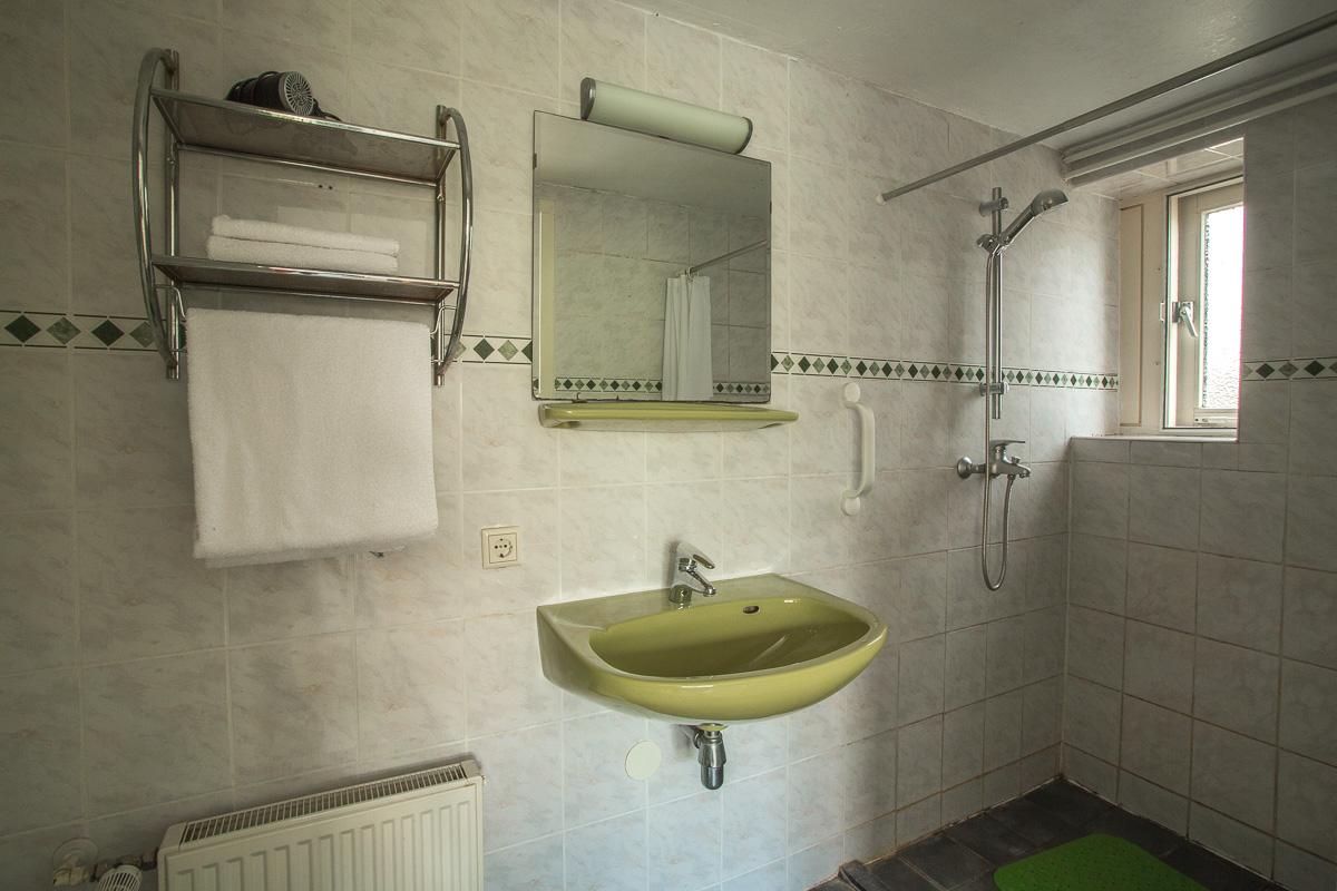 Groene kamer B&B Woldstee